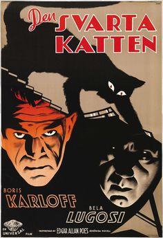 18-The-Black-Cat-Universal--1934-swedish-poster
