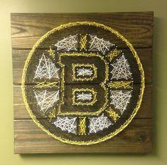 Boston Bruins String Art