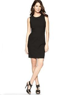 Princess Seam Dress (True Black). Gap. $59.95