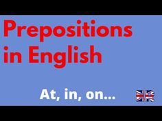 Participial prepositions - what are they? Complete chart of participial prepositions of time and place with easy to understand examples - English Reservoir Prepositions, English Grammar, Learn English, Chart, Learning, Easy, Learning English, Studying, Teaching