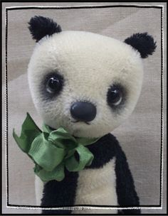 PDF Pattern Panda For You To Make 8 Japanese Style by kallie214, $12.00