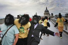 A new study shows that we burn many more daily calories than other apes.