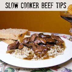 Amy's Cooking Adventures: Slow Cooker Beef Tips