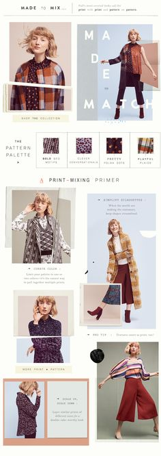 anthropologie landing page