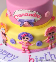 free printable lalaloopsy invitations | For Cassandra's 7th birthday, her mom requested a Lalaloopsy cake ...