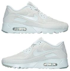 cheap for discount 1d745 9037a NIKE AIR MAX 90 ULTRA BREATHE MENs M RUNNING PURE PLATINUM AUTHENTIC NEW  IN BOX