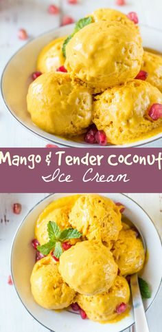 Mango And Tender Coconut Ice Cream Mango and Tender Coconut Ice Cream : All I can say about this ice cream is this is the perfect summer treat. It's creamy and as good as a store bought ice cream. And I am gonna tell you how to get the creamiest Ice Cream at home,even with out using an Ice Cream machine. Summer means Mangoes.. Summer means frozen treats. And this recipe is both. From simple kulfi to any gourmet variant,Ice Cream is one of the simple joys to be enjoyed in summer. I am kind of…