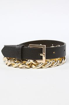 The Chain Belt in Black by *Accessories Boutique #misskl #winyourpin