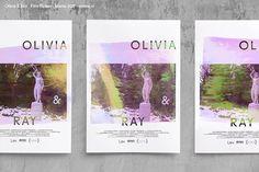 Promotional poster design for short film 'Olivia & Ray'.