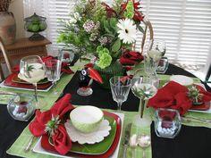 Tropical Tablescape Design