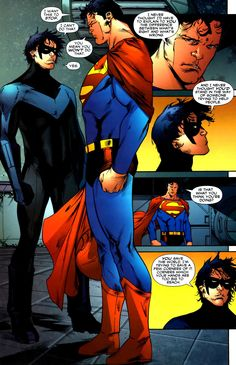 Nightwing and Superman
