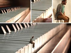 Definitely want to try this!! - Surreal miniature photographic manipulations