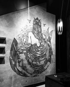 Kristopher Ho (@kristopherh) • Instagram photos and videos Starbucks Siren, Starbucks Reserve, Shanghai, Art Gallery, Anniversary, Entertaining, Photo And Video, Drawings, Artist