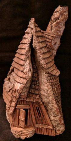Cottonwood Bark Woodcarving by N. Minske.