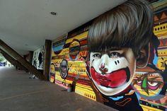 Bienal do grafite em São Paulo