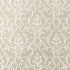 Dazzled Wallpaper in Metallic and Beige design by Candice Olson via BurkeDecor