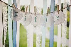 simply pretty wedding: A pretty gift table Henseler Bowes Gift Table Wedding, Unique Wedding Gifts, Unique Weddings, Wedding Cards, Vintage Weddings, Wedding Blog, Diy Wedding, Wedding Ideas, Wedding Stuff