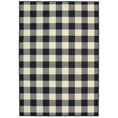 Shop for The Gray Barn Garland Gale Gingham Check Black/ Ivory Loop Pile Indoor-Outdoor Area Rug - x Get free delivery On EVERYTHING* Overstock - Your Online Home Decor Store! Get in rewards with Club O! Kids Outdoor Furniture, Furniture Decor, Adirondack Furniture, House Furniture, Garden Furniture, Modern Furniture, Indoor Outdoor Area Rugs, Outdoor Planters, Outdoor Living