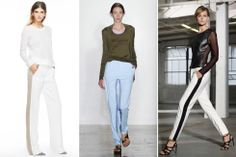 Has Spring Sprung Yet? | Tuxedo Athletic Trouser {Spring 2014 Trend}