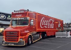 Coca Cola's Christmas lorry is heading to Suffolk