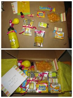 Box Of Sunshine Care Package AND More Creative Birthday Gift Ideas Gifts