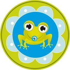 Etiqueta de sapito para baby shower de niño | Manualidades para Baby Shower