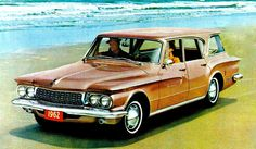 1962 Dodge Lancer 770 Station Wagon.