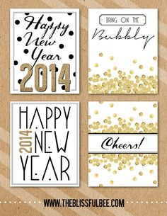 free new years eve wine bottle printables project life freebies project life cards