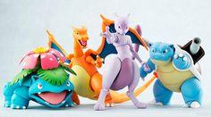 D-Arts Pokemon Figures!! The originals <3