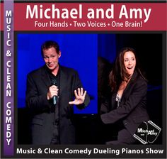 Headline Music & Clean Comedy Dueling Pianos Show for corporate events, performing arts centers, concerts, theaters, and special events.