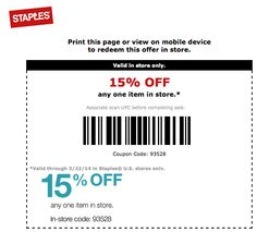 Stapleton OFF any one item in store. Fitbit Flex, Coupon Codes, Coupons, Coding, Store, Larger, Coupon, Shop, Programming