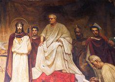 Pavel Svedmonsky and Wilhelm Kotarbiński , The Judgement of Pilate,  St Volodymyrs Cathedral, Kiev  http://www.vlsobor.com/index.html
