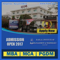 Apply Now Admissions Open # MBA ,MCA and #PGDM 2017 @himt.ac.in