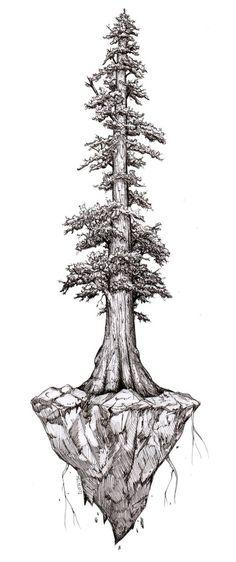 Yggdrasil , an art print by Mel Light - INPRNT