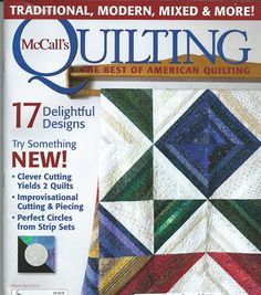 MQ Mar-Apr 16 - splash of color part 2 series quilt - Picasa Web Albums