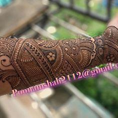 ideas for floral bridal henna designs Indian Mehndi Designs, Modern Mehndi Designs, Wedding Mehndi Designs, Mehndi Design Pictures, Beautiful Mehndi Design, Mehndi Designs For Hands, Mehendhi Designs, Mehendi, Henna Mehndi