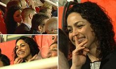 Former Chelsea doctor EVA CARNEIRO returns home to watch Gibraltar 5-0 defeat by Latvia...