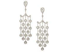 18ct Large rose diamond drop earrings Diamond 9.48ct  £29500  http://www.luciecampbell.com/earrings/All/1053--1/  richard@luciecampbell.com  Lucie Campbell Jewellers Bond Street London  http://www.luciecampbell.com