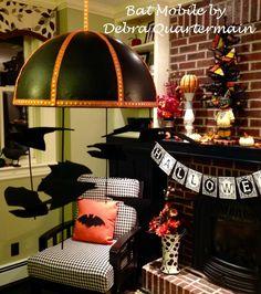 Smoothfoam halloween bat mobile
