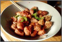 Innbakt kylling:2 kyllingfiletterGrønn paprikaLøk5 dl Rapsolje til friteringen150 g. smeltet smør...