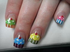 cupcake Nails | Home Beliebte Bilder News Nageldesign Anleitungen Nailart