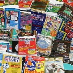 awesome 300 Unopened Football Cards Collection in Factory Sealed Packs of Vintage NFL... - For Sale View more at http://shipperscentral.com/wp/product/300-unopened-football-cards-collection-in-factory-sealed-packs-of-vintage-nfl-for-sale/