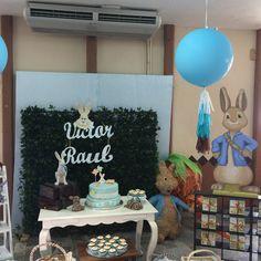 Fiesta de conejos, primer cumpleaños y bautizo! Rabbit party