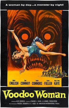 Voodoo Woman - 1957 - Movie Poster