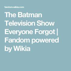 The Batman Television Show Everyone Forgot | Fandom powered by Wikia