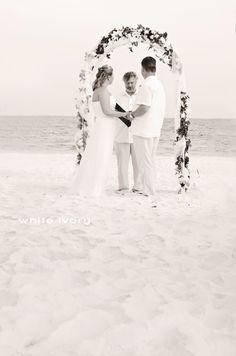 Pensacola Beach, Florida, wedding photography. #ExplorePcola