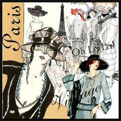 """"""" Vintage Paris """""""
