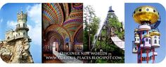 Curious Places all around the world, and the website that shows you where they are :)