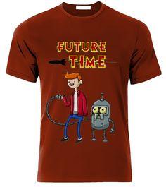 $179.00 Playera o Camiseta Hora de Futurama - Comprar en Jinx