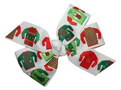 Girls Ugly Christmas Sweater Party GrosGrain Hair Bow French Clip * Check this awesome product by going to the link at the image. (This is an affiliate link and I receive a commission for the sales) Hair Barrettes, Hair Bows, Headbands, Hair Clips, Girls Ugly Christmas Sweater, Christmas Sweaters, French Clip, Christmas Hairstyles, Being Ugly